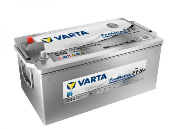 Baterie VARTA PROMOTIVE EFB 240Ah C40 EN 1200A