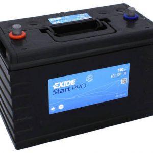 Baterie auto EXIDE START PRO 110 Ah EG110B EN 950A